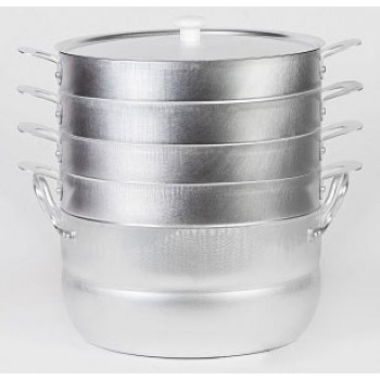 Мантоварка Чудо 6 л, 4 сетки алюминиевая