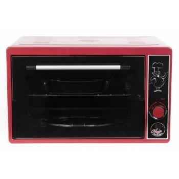 Духовка электрическая Чудо пекарь ЭДБ-0121 1500ВТ, 39л, 3 режима работы, красный