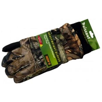 Перчатки для охоты № 4 (осень-зима) камуфлированные