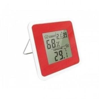 Метеостанция цифровая Стеклоприбор Т-07. Функции: термометр (температура внутри), гигрометр, часы, будильник, календарь