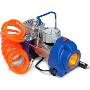 Компрессор автомобильный Ротор Катунь-317 (50 л/мин, 10 кгс/см2, фонарь)