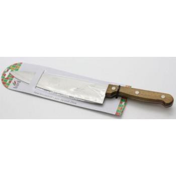 Нож кухонный Astell 20.0см с деревянной ручкой поварской AST-004-НК-015