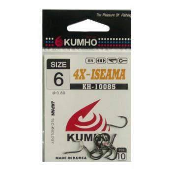 Крючок Kumho KH-10085 № 6 (в упак.10шт) 4X-ISEAMA