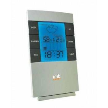 Электронная метеостанция IRIT IR-703 с часами