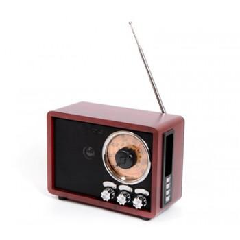 Радиоприёмник БЗРП Сигнал РП-328 FM/AM/SW1-2, аккум./сеть/R20*2 (не в комп.), разъем USB/microSD