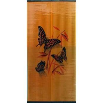 Инфракрасный пленочный обогреватель Бархатный сезон 500Вт 1200Х580мм картинка Бабочки на оранжевом