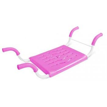 Сиденье в ванну СВ4 (индиго) пластмассовое нераздвижное с металлическим каркасом