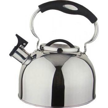 Greys KS-424 Чайник со свистком 2.5л нержавеющая сталь
