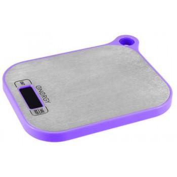 Energy EN-411 Электронные кухонные весы 5кг/1г (фиолетовые)