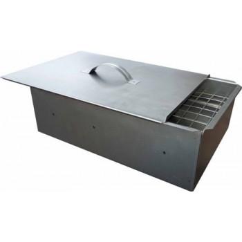 Коптильня двухъярусная Счастливый день (сталь 0.5мм) 335х275х210мм (в коробке)
