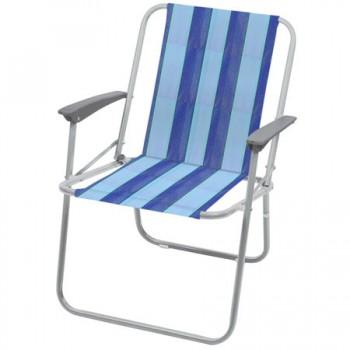 Кресло складное Ника КС4 Цвет-Синий