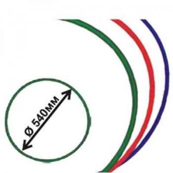 Обруч гимнастический пластмассовый диаметр 540 мм Владспортпром