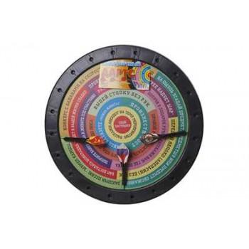 Дартс двухсторонний Праздничный (диаметр 410мм, 3 пластиковых дротика) пр-во Задира-П