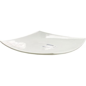 Тарелка Luminark обеденная Квадрато белая, 26 cм