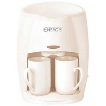 Кофеварка Energy EN-601 450Вт (на 2 чашки) бежевая