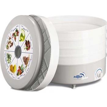 Сушилка для овощей и фруктов Ротор-Дива СШ-007-04 (подарочная уп-ка, 5 белых поддонов)