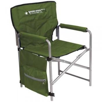 Кресло складное Ника КС1 Цвет - Хаки/Строчёный