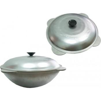 Казан татарский с крышкой диаметр 420мм, объем 12 л