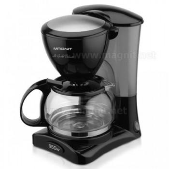 Кофеварка Magnit RMK-1996, 650Вт, 0.6л