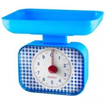 Energy EN-410MK Механические кухонные весы 10кг/1г с чашей, голубые