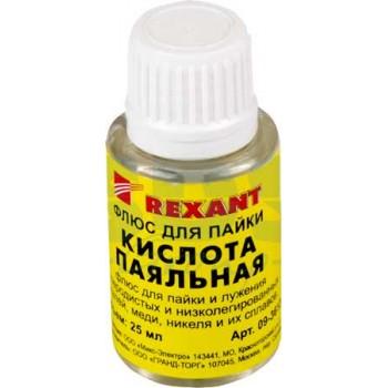 Флюс для пайки Rexant паяльная кислота 25 мл с кисточкой 09-3613