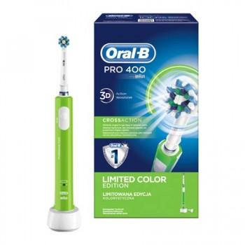 Зубная щётка электрическая Braun Oral-B D16.513U PRO400, crossaction, оранжевая