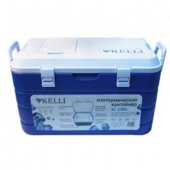 Изотермический пластиковый контейнер Kelli KL-1901-40, 40л
