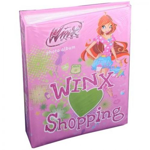 Фотоальбом Winx (10413) большой 192 фото, розовый