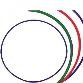 Обруч гимнастический пластмассовый диаметр 750 мм Владспортпром