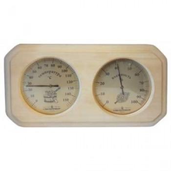 Термогигрометр для сауны Стеклоприбор ТГС-2 (термометр от 0 до +150°C, гигрометр от 0 до 100%)