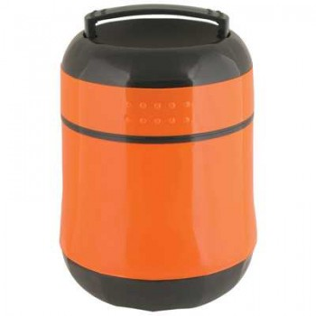 Термос Mallony F4510 ланч-бокс, 1.0л, колба из стекла, 1 контейнер из пластика (074026)