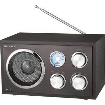 Радиоприёмник Supra ST-125 FM (black)
