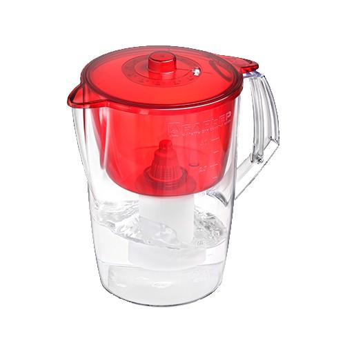 Барьер Норма фильтр для воды (рубин) 3,6л, механический индикатор ресурса