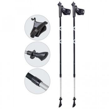 Палки для скандинавской ходьбы Ecos AQD-B020 gray телескопические