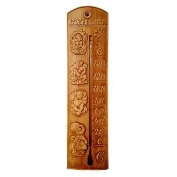 Термометр для сауны Еврогласс ТСС- 4/1 (керамика) в блистере