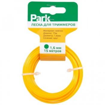 Леска нейлон для триммеров Park 1.6мм 15м круг (990594)