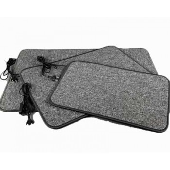 Электросушилка для обуви Теплый Коврик ТК-3 Чёрный 80Вт 80х56см