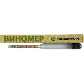 Виномер-сахаромер бытовой Роскомфорт (спирт 0-12%, сахар 0-25%)