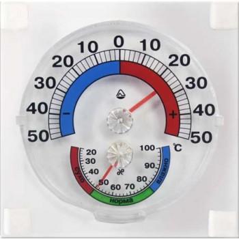 Термогигрометр бытовой ТГО (термометр оконный биметаллический с гигрометром)