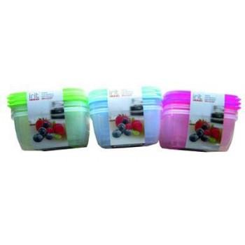 Набор пластиковых контейнеров Iirt IRH-026P (3 предмета: 1200мл)