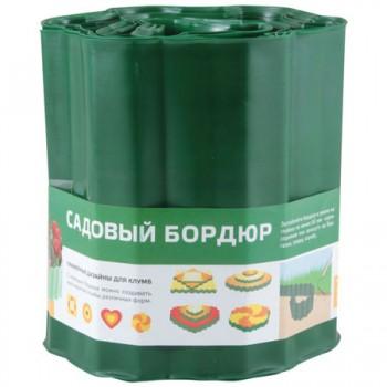 Бордюр для газонов, грядок Park(С) H=20cm, L=9m, зеленый