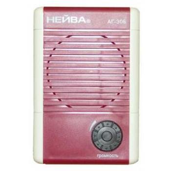 Громкоговоритель абонентский Нейва АГ-306 сеть 30В (откидная вилка для подключения к радиосети)