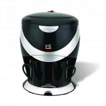 Кофеварка капельная IRIT IR-5050, 450Вт, на 2 чашки