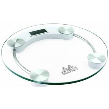Gelberk GL-200 Электронные напольные весы до 180кг (платформа-стекло, круг)