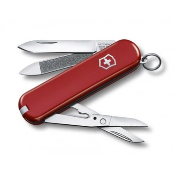 Нож Victorinox Classic Executive 81, 65 мм, 7 функций, красный (0.6423)