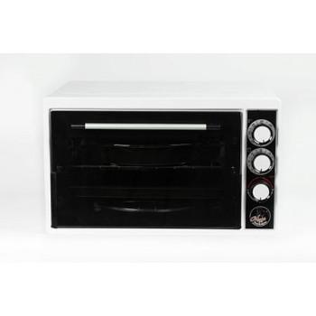 Духовка электрическая Чудо пекарь ЭДБ-0123 1500ВТ, 39л, 3 режима работы, таймер, белая