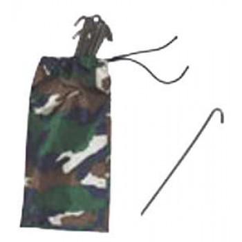 Колышки для палатки - набор 15 штук в чехле Риф