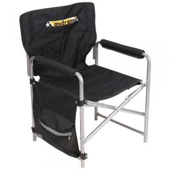 Кресло складное Ника КС1 Цвет - Чёрный/Строчёный