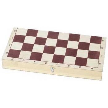 Доска шахматная Е-5 турнирная лакированная