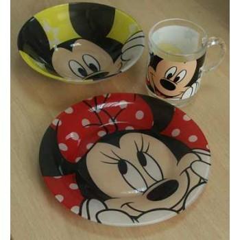 Набор детский Luminark Disney Oh Minnie, 3 пр.